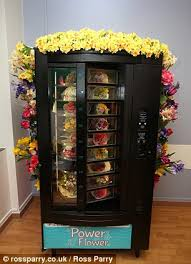 Vending Machines Leeds Simple Hospital Installs UK's First Silk Flower Vending Machine To Get
