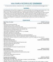 1011 Business Administration Cv Examples Business Cvs Livecareer