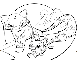 Animal Jam Coloring Pages Coloring Kids Coloring Pages Animal