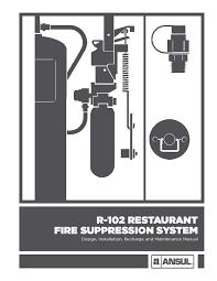 Ansul Nozzle Chart Pdf R 102 Restaurant Fire Suppression System Design