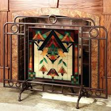 fresh glass fireplace screen or stained glass fireplace screens 93 glass fireplace screens with doors