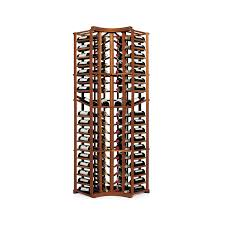 nfinity wine rack kit 4 column curved corner with display arched table top wine cellar furniture