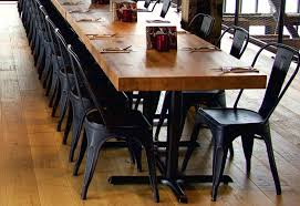 vancouver dining chairs chic modern custom made dining table with four