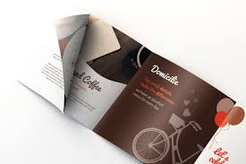 Coffee Shop Free Brochure Template For Illustrator • Pagephilia