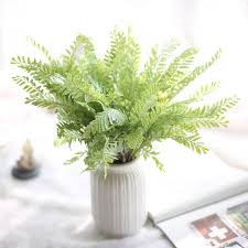 Small Picture Aliexpresscom Buy Artificial Plants Plastic Pteris Branches