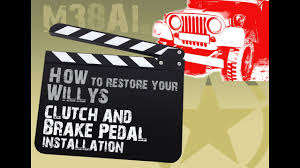 restore your willys install clutch and brake pedal spring m38a1 restore your willys install clutch and brake pedal spring m38a1