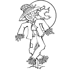 Small Picture Scarecrow Coloring Pages coloringsuitecom