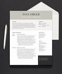 Modern Resume Cover Letters Pack Office Cv Resume Template Modern Resume Cover Letter 1 Page