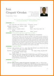 8 English Cv Example Producer Resume