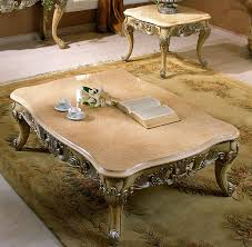 coffee table w marble top touch to zoom