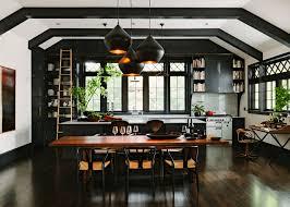 modern kitchen black and white. Black-kitchen-ideas-freshome5 Modern Kitchen Black And White