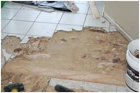 removing ceramic tile wood suloor