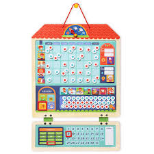 Kids Wooden Magnetic Montessori Material Educational Toys