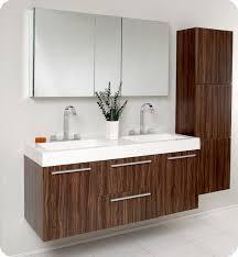 modern bathroom furniture sets. Astounding Fresca Opulento Walnut Modern Double Sink Bathroom Vanity W In Cabinet Sets Furniture B