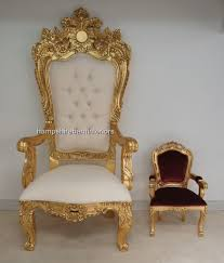 Ornate Bedroom Chairs A Emperor Rose Large Ornate Throne Chair Hampshire Barn Interiors