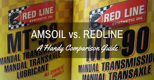 Amsoil Vs Redline A Handy Comparison Guide