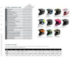 Fly Helmet Size Chart Focus Camo Clear Lens