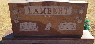 Walter Ivy Lambert, Sr (1910-1986) - Find A Grave Memorial