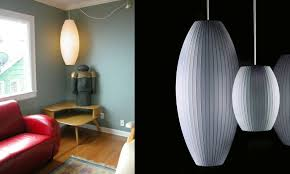 george nelson lighting. lifestyle george nelson bubble lamp cigar large lighting