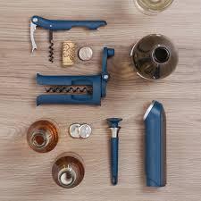 barwise 2 piece bottle opener set from joseph joseph in blue barwise collection by joseph joseph