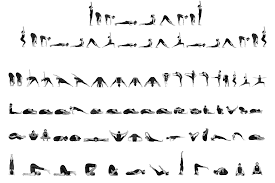 ashtanga yoga primary series chart png
