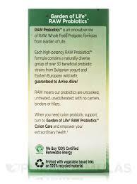 garden of eden probiotics. Probiotics™ Colon Care 50 Billion - 30 Vegetarian Capsules RAW Garden Of Eden Probiotics E