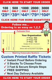 raffle tickets printing custom raffle tickets are our specialty raffleticket com