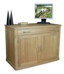 hidden desk furniture. Mobel Oak Hidden Home Office Desk Furniture