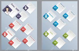 Modern Resume Color Cool New Modern Resume Curriculum Vitae Cv Design With Color