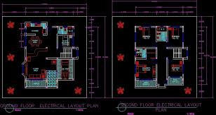 floor plan dwg plan for autocad