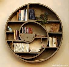 Circular Floating Shelves Classy Floating Shelves Inspiration Cool Circular Bookshelves Socal