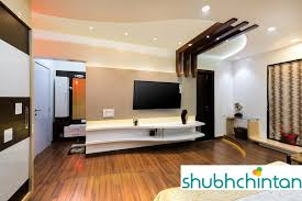 bedroom modern with tv. Master Bed T.V. Unit: Modern Bedroom By Shubhchintan With Tv E
