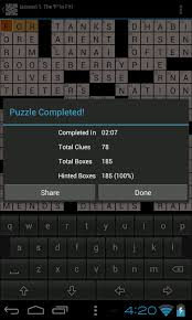 u s a daily newspaper crossword puzzles ad free amazon co uk app for android