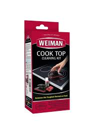 glass cook top cleaning kit