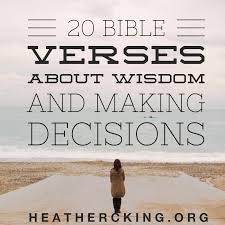 Bible Quotes About Hope Cool 48 Bible Verses On Wisdom And Making Tough Decisions Heather C