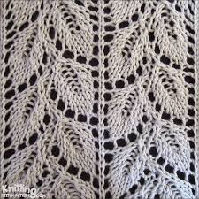 Lace Knitting Stitch Patterns