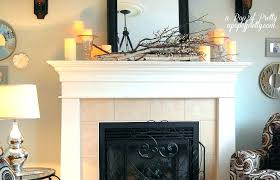 fireplace mantle decoration view in gallery fireplace mantel decorating ideas with tv above