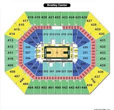 Bmo Harris Bradley Center Milwaukee Wi Seating Chart View
