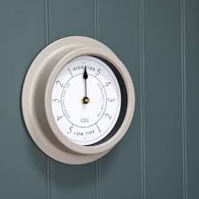 wall mounted round tide clock
