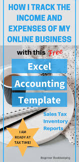 accounting excel template free excel bookkeeping templates