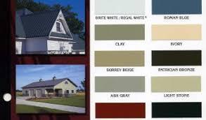 Residential Metal Roof Colors Mcelroy Metal