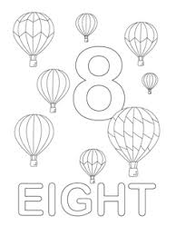 Small Picture Number Coloring Pages Mr Printables