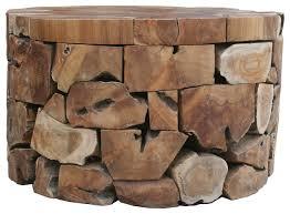 teak wood round akara coffee table 28