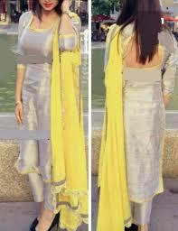 Punjabi Suit Gale Design Pintrest Dixna Deol Indian Designer Wear Clothes For