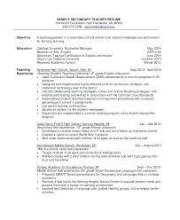 Teacher Resume Objective Statement – Kappalab