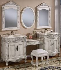 how to whitewash oak furniture. furniture exquisite double sink vanity with makeup table and carved wood cabinet using white wash paint how to whitewash oak