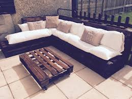 pallet outdoor couch amazing diy whole pallet sectional patio couch