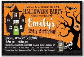 halloween birthday greeting halloween invitations harrison greetings business greeting cards