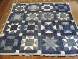 Denim Quilt Finished! | Tim Latimer - Quilts etc & Since It was a rather well used quilt top and less than perfect piecing the  edges are a bit wobbly and less than flat, but it is a very casual quilt ... Adamdwight.com