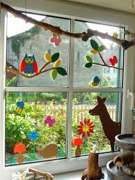 Meine Grüne Wiese Gebasteltes Fensterbildchen Windows Diy For